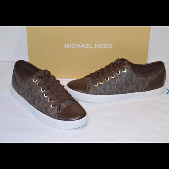 Michael Kors Womens Mk City Sneakers Sz